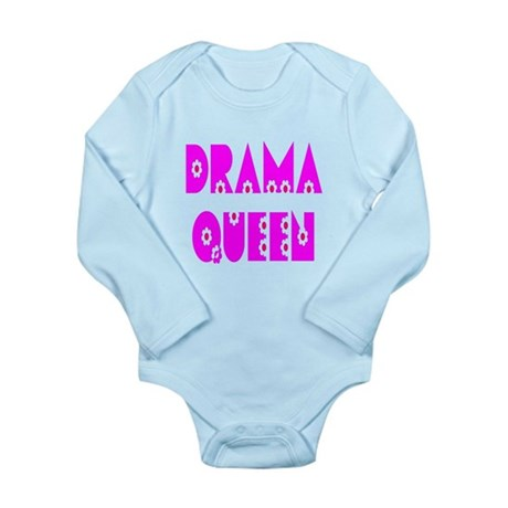 Drama Queen Long Sleeve Infant Bodysuit