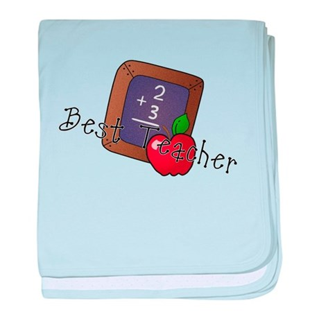 Best Teacher baby blanket