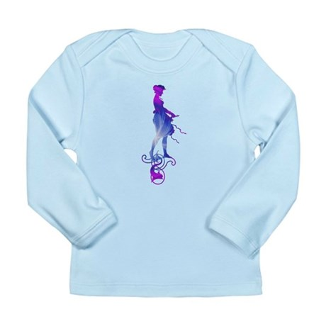 Rainbow Girl Long Sleeve Infant T-Shirt