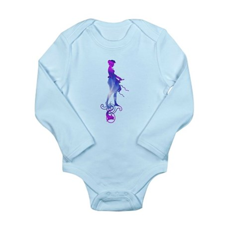 Rainbow Girl Long Sleeve Infant Bodysuit