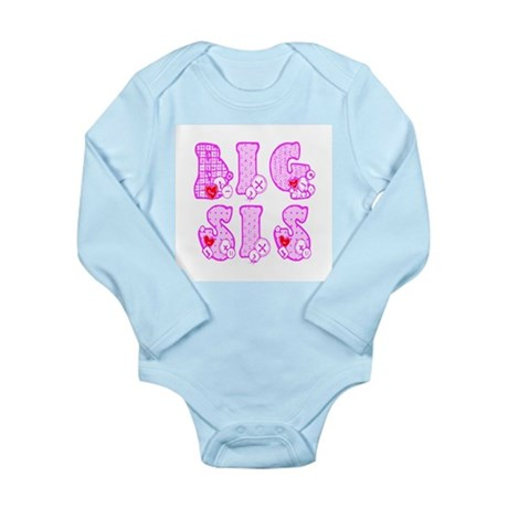 Big Sis Long Sleeve Infant Bodysuit