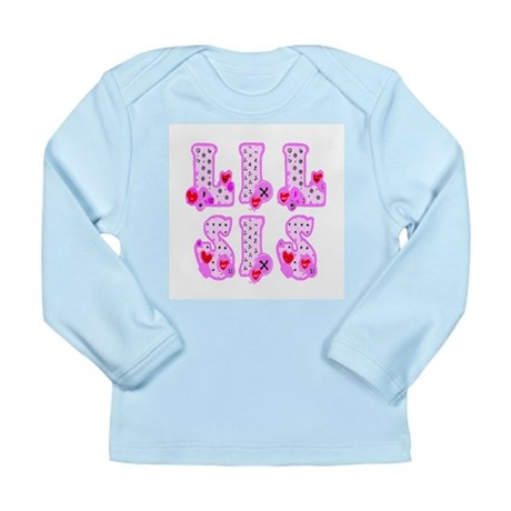 Lil Sis Long Sleeve Infant T-Shirt
