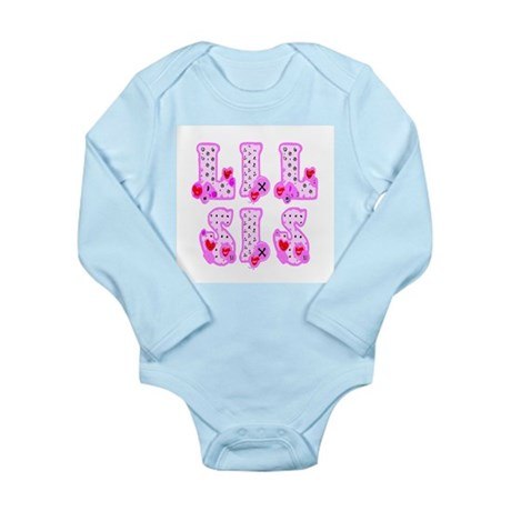 Lil Sis Long Sleeve Infant Bodysuit