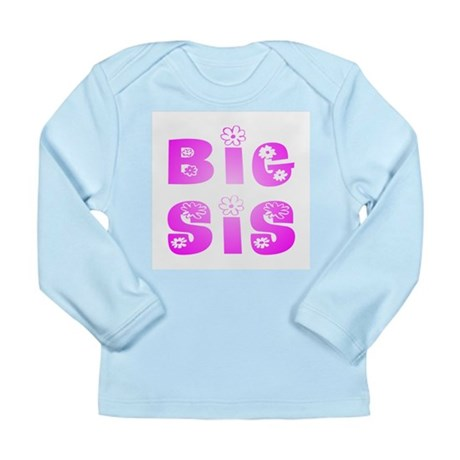 Big Sis Hippy Long Sleeve Infant T-Shirt