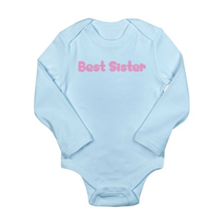 Best Sister Long Sleeve Infant Bodysuit