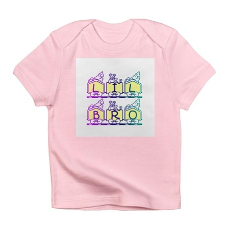 Lil Bro Train Infant T-Shirt