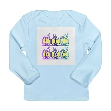Lil Bro Train Long Sleeve Infant T-Shirt