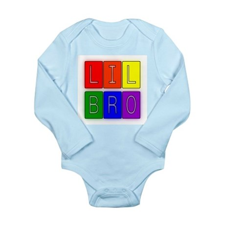 Lil Bro Long Sleeve Infant Bodysuit