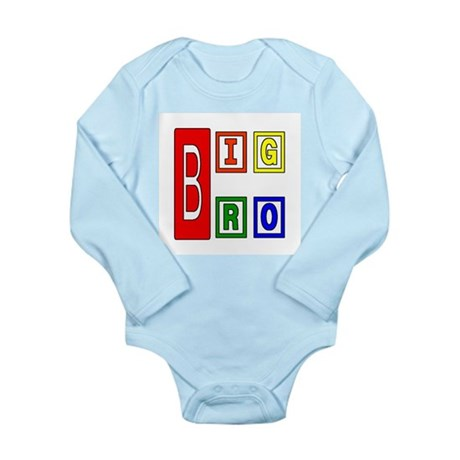 Big Brother Long Sleeve Infant Bodysuit