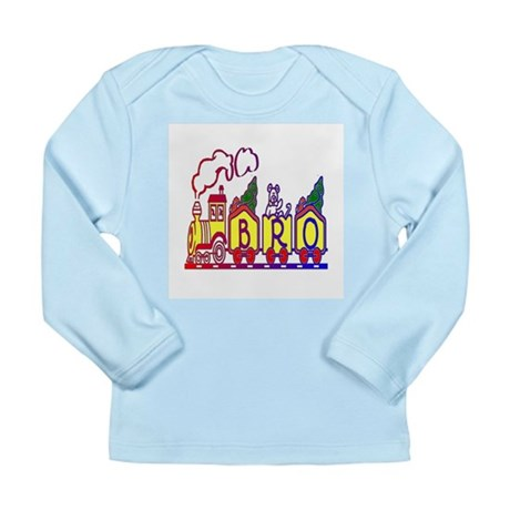 Bro Train Long Sleeve Infant T-Shirt