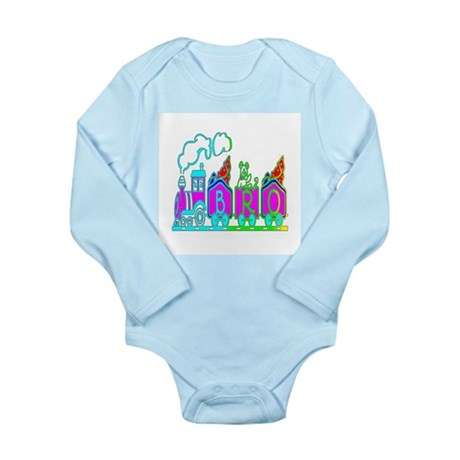 BRO Train II Long Sleeve Infant Bodysuit