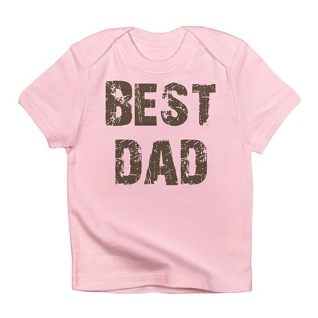Best Dad Father's Day Brown Infant T-Shirt
