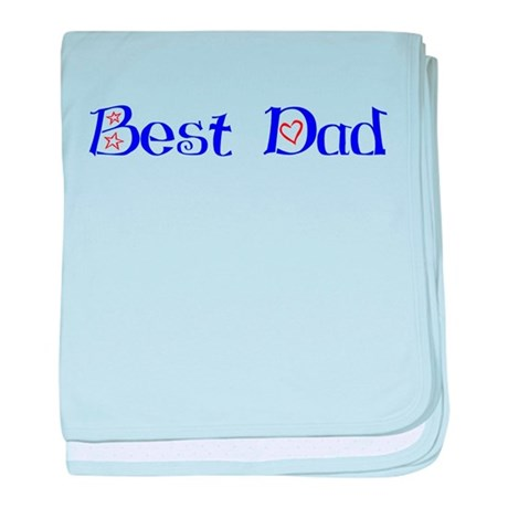 Best Dad baby blanket
