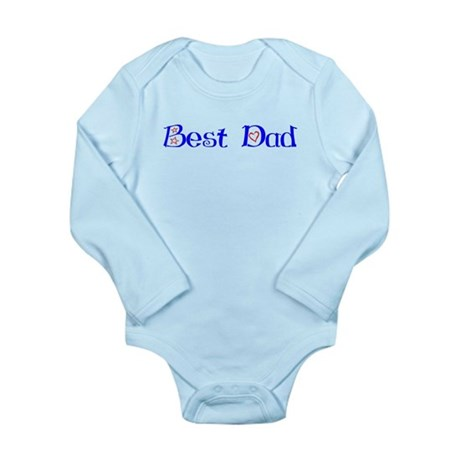 Best Dad Long Sleeve Infant Bodysuit