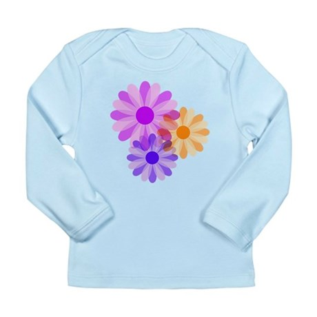 Flowers Long Sleeve Infant T-Shirt