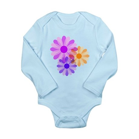 Flowers Long Sleeve Infant Bodysuit