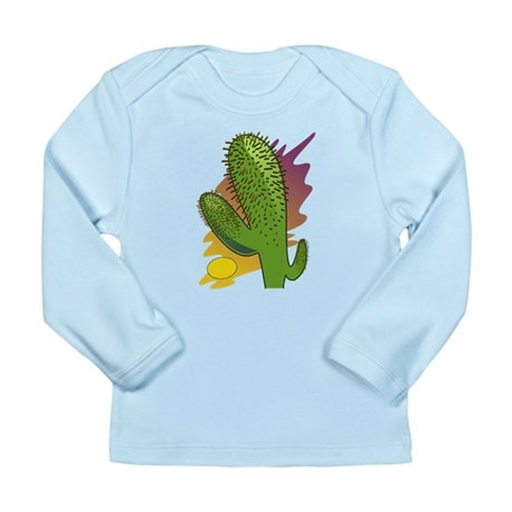 Southwestern Cactus Long Sleeve Infant T-Shirt