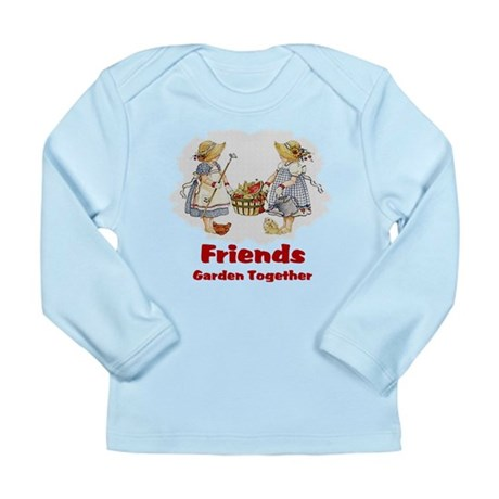 Friends Garden Together Long Sleeve Infant T-Shirt