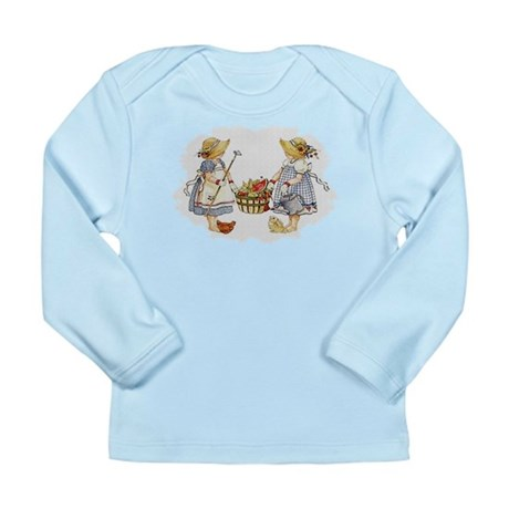 Girls Garden Long Sleeve Infant T-Shirt