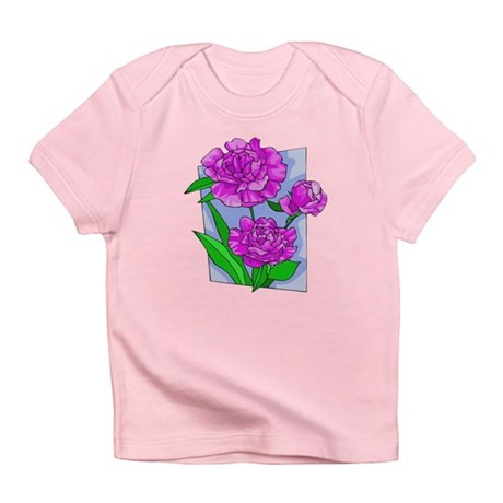 Pink Peonies Infant T-Shirt