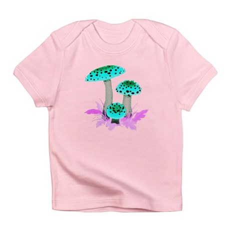 Teal Mushrooms Infant T-Shirt