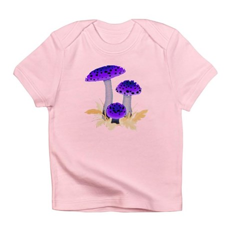 Purple Mushrooms Infant T-Shirt