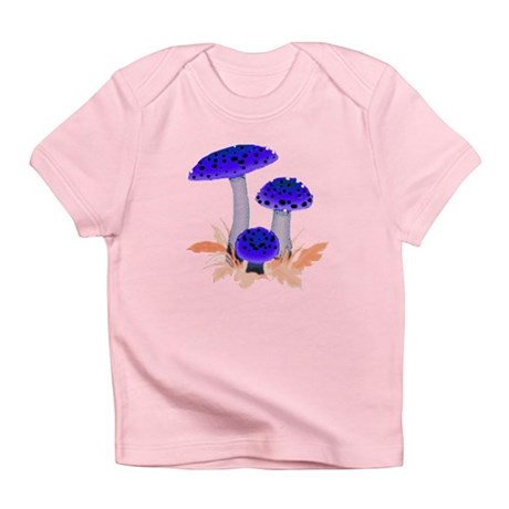Blue Mushrooms Infant T-Shirt
