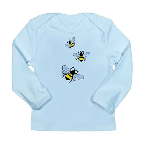 Bumble Bees Long Sleeve Infant T-Shirt
