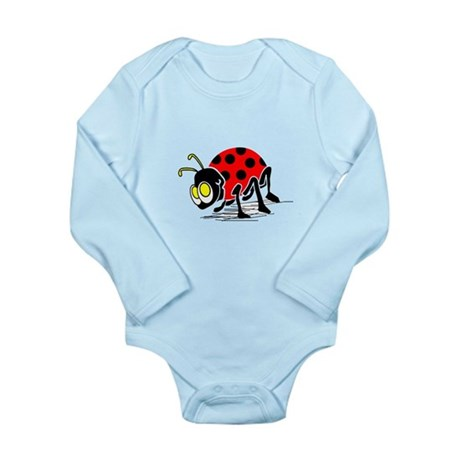 Ladybug Long Sleeve Infant Bodysuit