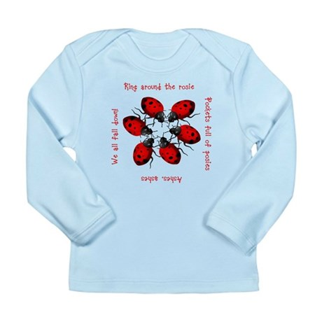 Ladybugs Playing Long Sleeve Infant T-Shirt