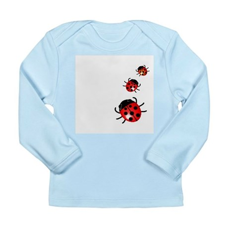 Ladybugs Long Sleeve Infant T-Shirt