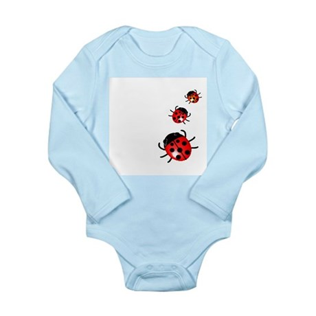 Ladybugs Long Sleeve Infant Bodysuit