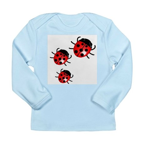 Lady Bugs Long Sleeve Infant T-Shirt