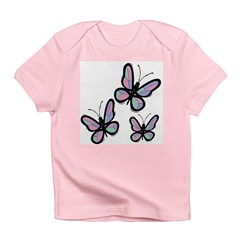 Patchwork Butterflies Infant T-Shirt