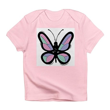 Patchwork Butterfly Infant T-Shirt