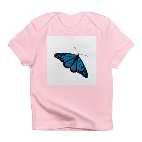 Blue Butterfly Infant T-Shirt