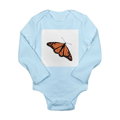 Butterfly Long Sleeve Infant Bodysuit