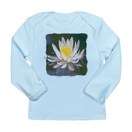 Lotus Blossom Long Sleeve Infant T-Shirt