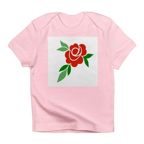 Red Rose Infant T-Shirt