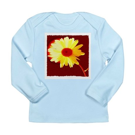 Hot Daisy Long Sleeve Infant T-Shirt