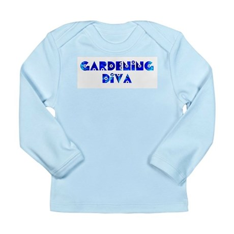 Gardening Diva Long Sleeve Infant T-Shirt