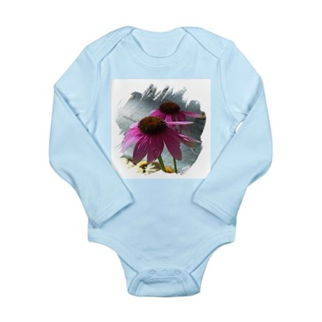 Windflower Long Sleeve Infant Bodysuit