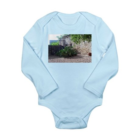 Prickly Pear Cactus Long Sleeve Infant Bodysuit