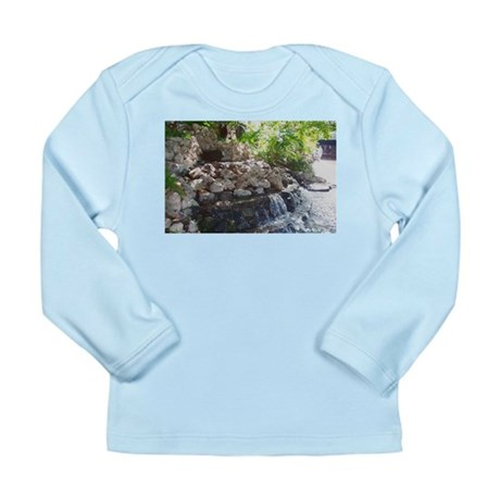 Garden Waterfall Long Sleeve Infant T-Shirt