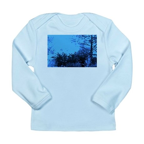 Blue Garden Long Sleeve Infant T-Shirt
