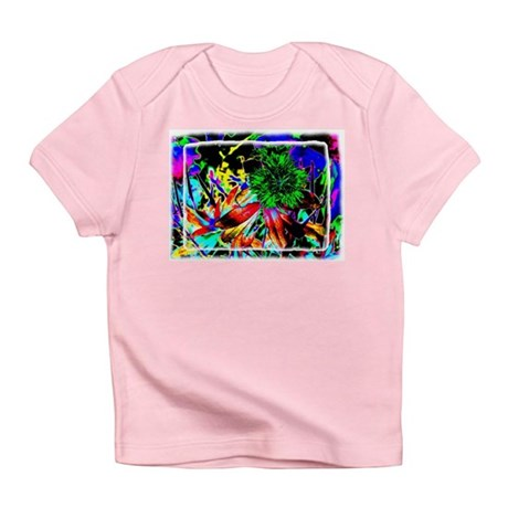 Green Flower Infant T-Shirt