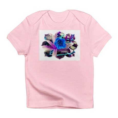 Blue Flower Infant T-Shirt