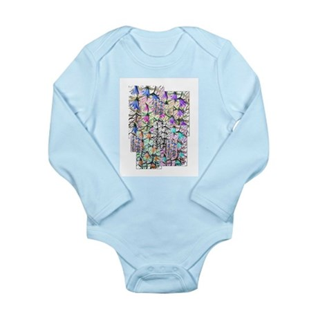 Lady Bells Long Sleeve Infant Bodysuit