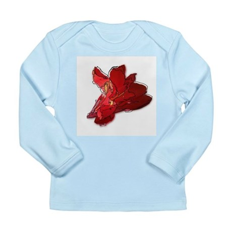 Lined Canna Long Sleeve Infant T-Shirt