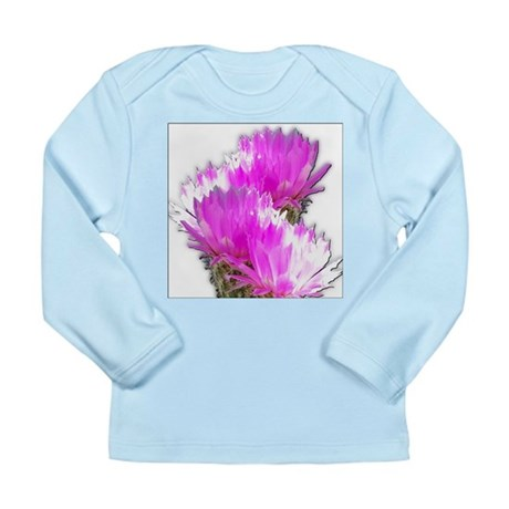Cactus Blooms Long Sleeve Infant T-Shirt